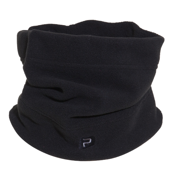 Polaris Bikewear's neck gaiter is made from polyester micro-fleece for warmth and comfort.