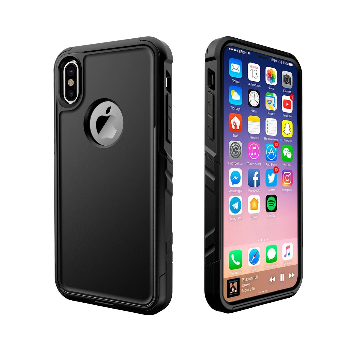 newest collection 9625b 30c38 VENTURA WATERPROOF CASE FOR iPhone X (10)