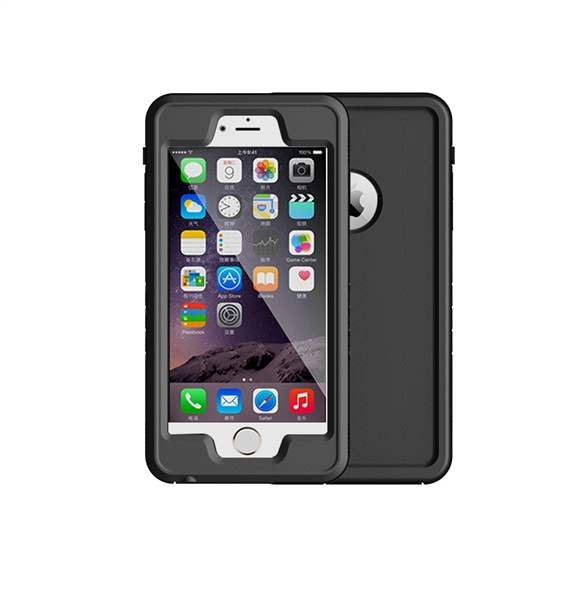 Polaris VENTURA W/P CASE FOR iPhone 6+/6S+, Black, One Size