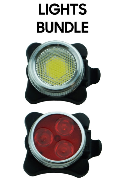 Front and Rear Lights Bundle