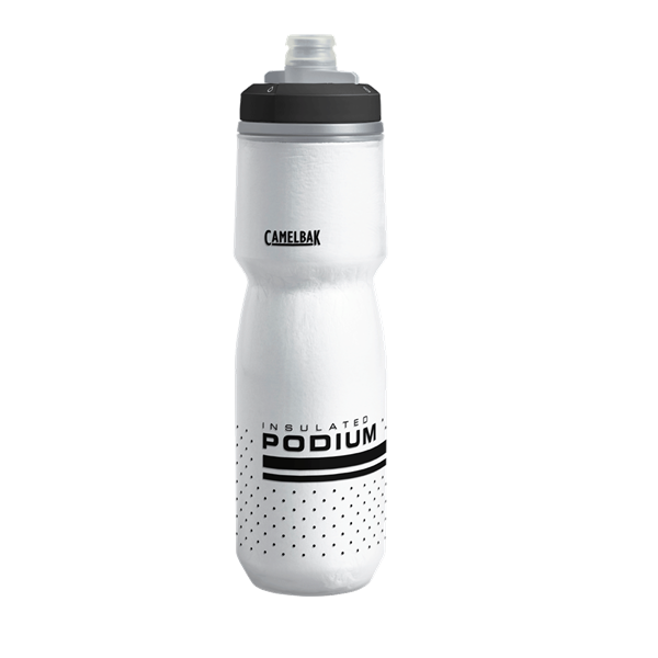 CAMELBAK PODIUM CHILL INSULATED BOTTLE WHITE/BLACK 710ML