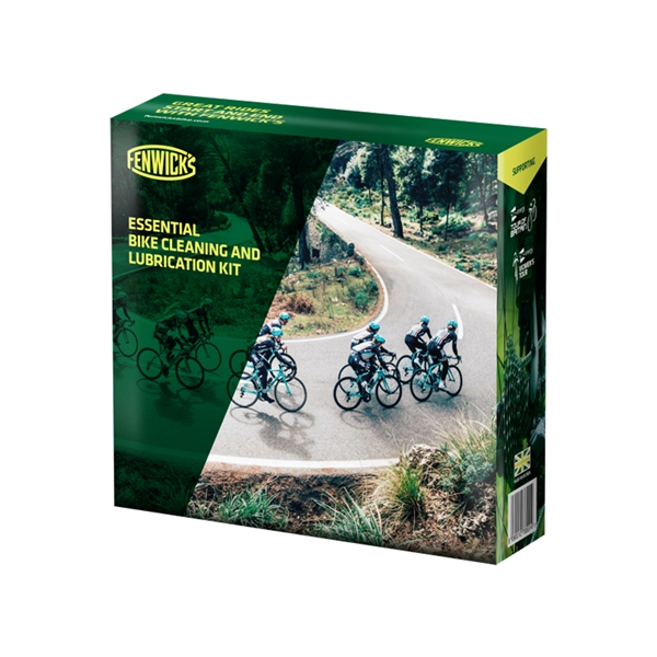 Fenwick's Complete Bike Cleaning & Lubrication Kit - Highest Quality Product