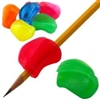 Neon Crossover Grip Pencil Grips (Set of 3)