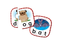 Learning Resources 3 - Letter Word  Puzzle Cards