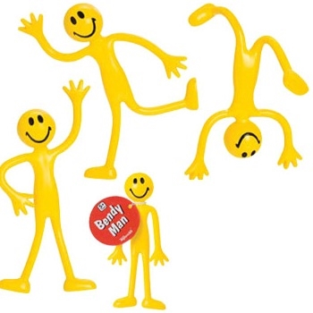 Got Special KIDS|Fun & Yellow Bendy Man Fidget Toy To Help With Focus
