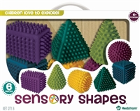 Got Special KIDS|3-D Squeezable Sensory Shapes w/ Bumps for Fine Motor Skills
