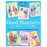 Eeboo Good Manners Flash Cards