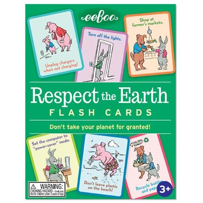 Got-Special KIDS | Respect the Earth Flash Cards
