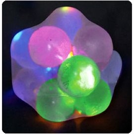 Got Special KIDS|Squishy Transparent Lightup Ball | Light Up Molecule Ball