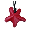 Chubuddy Starfish Chew Pendant is a fun and fashionable shape that really blends in.  It comes with a breakaway clasp necklace.