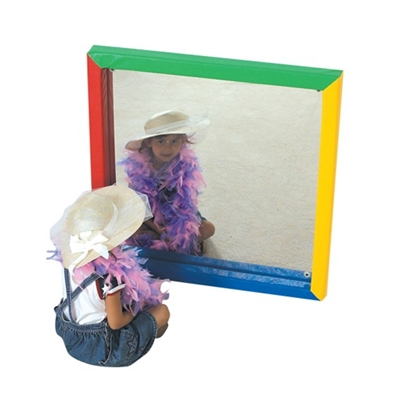 Got Special KIDS|24 x 24-Inch Shatter-Resistant Mirror w/ Colorful Soft Edges