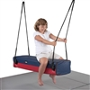 Got Special KIDS| Ultra Heavy Duty Padded Vinyl Bolster Swing - Glider