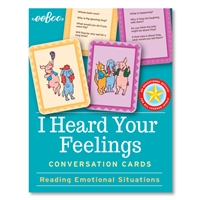 Eeboo I Heard Your Feelings Conversation Cards