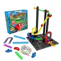Thinkfun Roller Coaster Challenge- Build an Amusement Park in Your Living Room!