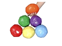 Yuck-E-Balls, 3-1/2 Inches, Assorted Colors, Set of 6