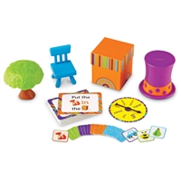 Learning Resources Fox In The Box- Position Word Activity Set