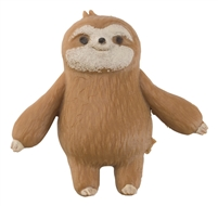 "Toysmith Don't Hurry, Be Happy Squishy Sloths - 4 Pack is The cutest squish to the finish with these squishy, stretchy four 1½"" sloths."