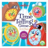 Eeboo - Time Telling Game is a great way to teach children how to tell time on a digital and analog clock.