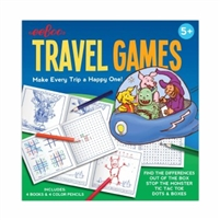 Eeboo - Travel Games is lots of fun to play for short or long trips! Tons of fun forkids and adults