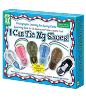 Carson Dellosa I Can Tie My Shoes! improves fine motor skills and eye-hand coordination while learning to tie shoes!
