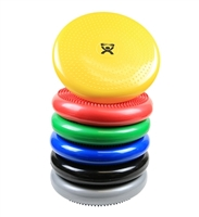 "CanDo Inflatable Vestibular Seating/Standing Disc, 35 cm (14"") mimics the movement and shape of an inflatable ball when used on any seat.The CanDo Inflatable Vestibular Balance Disc is great for adults and children."