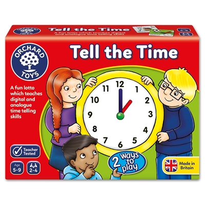 Got Special KIDS|Orchard Toys Tell The Time