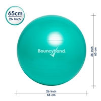 Got Special KIDS|Bouncy Band Balance Ball - No Roll Weighted Seat (55cm)