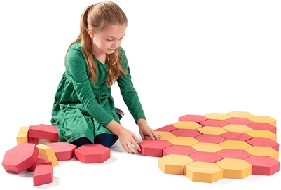 Got Special KIDS| Foam Paver Building Blocks 30 Piece Stacking Blocks