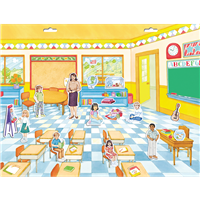 Got Special KIDS|Create A Scene Magnetic Schoolroom School