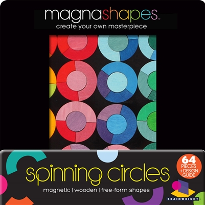Got Special KIDS|Brainwright Magnashapes - Magnetic Shape Free-Form Puzzle