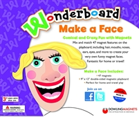 Got Special KIDS|Wonderboard 'Make a Face' Emotional Learning Magnet Set