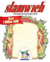 Slamwich is a fast-paced and exciting card game. It teaches reading readiness skills, like visual discrimination and sequencing.