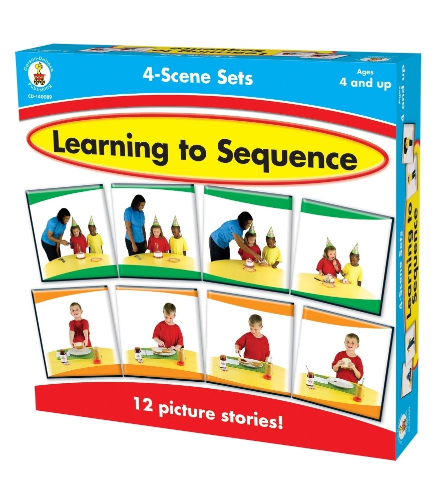 Early Learning Language Arts Puzzles And Games For Learning Sequencing Of Events In A Story Develop Sequential Thinking