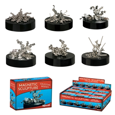 Toysmith Magnetic Sculpture Set is a fun, classic desk toy! It can be manipulated into a variety of forms and designs.  Playing with a magnetic art is a great way to take a break during a stressful day.