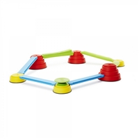 Gonge Build N' Balance Intermediate Set G-2238 is the next step up in difficulty for balance and coordination