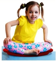 Kore Floor Wobbler allows children to sit comfortably on the floor and remain active in one spot! Kids love it!