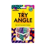 Brainwright Try Angle is a fidget puzzle that you can twist and click the tilting triangles to line up the patterns, or get creative with daring designs of your own. No matter how you try it, the angle is always right!