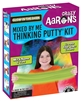 Crazy Aaron's Mixed By Me Thinking Putty Kit - Glow in the Dark Includes five clear tins and six special effects of Genuine Crazy Aaron's Thinking Putty.