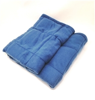 Got Special KIDS| Weighted Blanket is made with non-toxic, washable plastic pellets. The pellets are evenly distributed in a quilted pattern so as to prevent weight shifting.