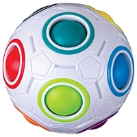 Got Special KIDS| Duncan Color Shift Puzzle Ball has 12 holes with only 11 filled with a colored ball.