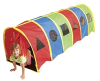 Pacific Play Tents Geo Tunnel is excellent for muscle and motor skill development in toddlers and children.