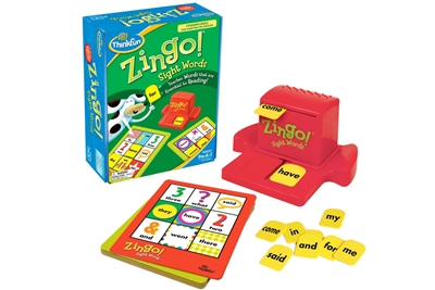Zingo for sight words by Thinkfun
