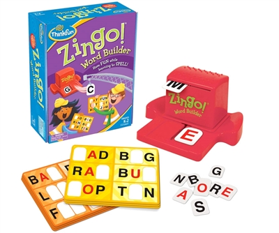 Got Special KIDS| Zingo Word Builder by Thinkfun