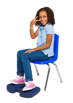 Got Special KIDS|Bouncy Band Wiggle Feet Quietly enables movements while working as the relaxing deep pressure fosters the ability to stay on task and be more productive