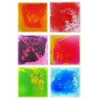 "Got Special KIDS|Surfloor Sensory  Liquid Floor Tiles - 12"" X 12"""