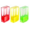 Sensory Fidget Ooze Timers - Rectangle Set of 3. Turn the cube in any direction and watch the jelly liquid ooze its way around.