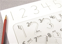 School-Rite Handwriting Templates - Numbers. The right tools make all the difference!