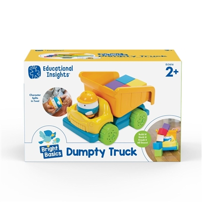 Got Special KIDS|Educational Insights Bright Basics Dumpty Truck is an adorable nursery-rhyme-themed play set!