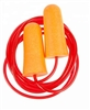 Foam Ear Plugs with Cord - 10 Pairs