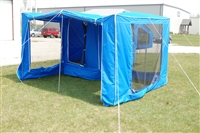 Time Out Trailers Wrap Around camper screen room, Deluxe camper, Time Out Camper.